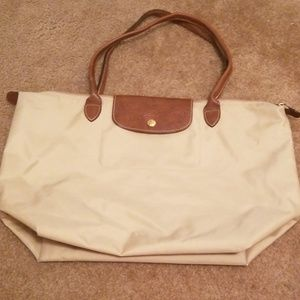 Longchamp large le pliage tote bag